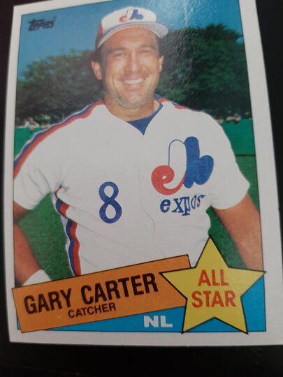 1985 Topps All Star Gary Carter #719