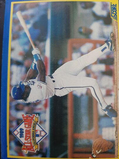 1989 Score All Star MVP Bo Jackson #566