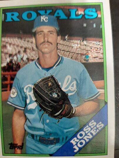1988 Topps Ross Jones #169