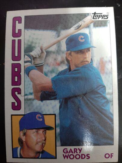 1984 Topps Gary Woods #231