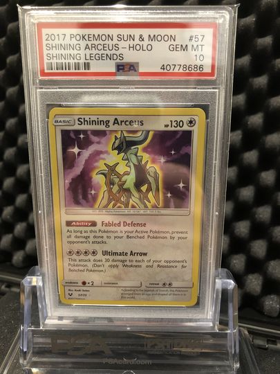Pokemon Shining Arceus 57//73 SM Shining Legends