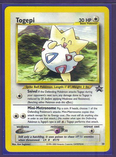 Cleffa 31 Black Star Promo M//NM Pokemon TCG Wizards of the Coast