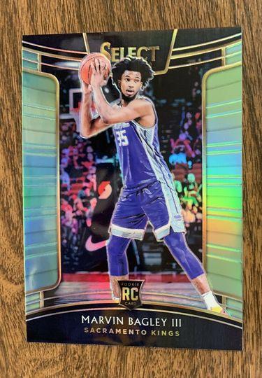 2018-19 Select Marvin Bagley Neon Green