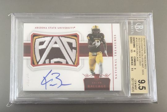 2018 National Treasures Kalen Ballage 1/1