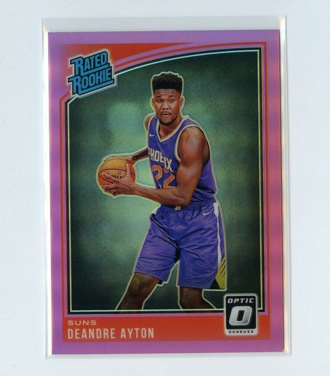DeAndre Ayton 2018-19 Optic Rated Rookie Pink /25