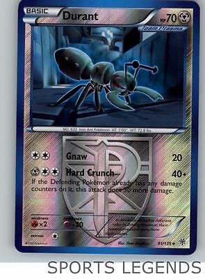 91//135 Fermite-n/&b plasma storm French designer card pokemon
