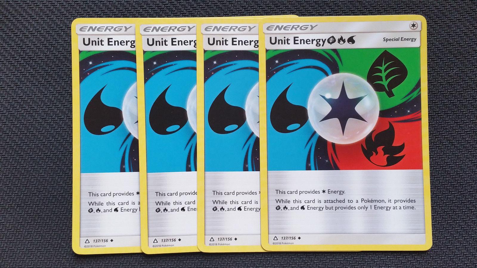 Pokemon Card Unit Energy GFW Ultra Prism 137//156 Excellent