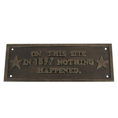 Signs & Plaques