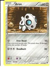 POKEMON BLACK AND WHITE PLASMA BLAST - ARON 57/101