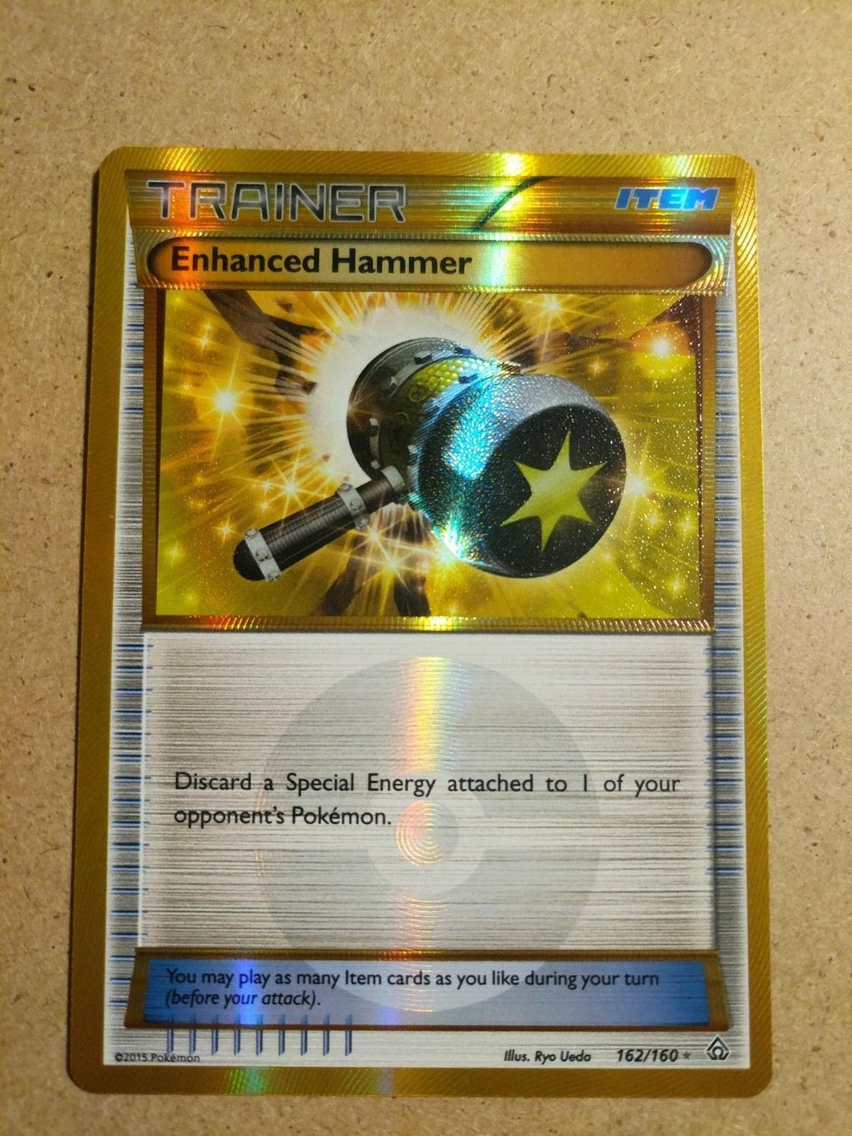 Enhanced Hammer NM//M 162//160 Secret Rare Pokemon Primal Clash