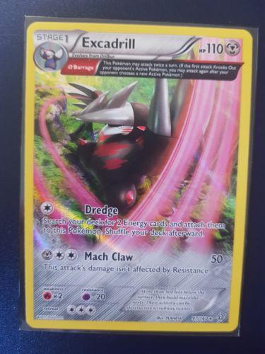 Pokemon Card Excadrill Reverse Holo 97/160 Primal Clash Set. - Image 1