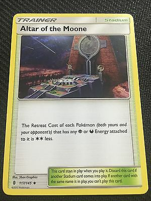 117//145 Altar of the Moone x4 POKEMON SUN /& MOON—GUARDIANS RISING