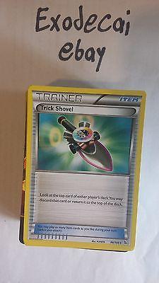 4x XY02-098 Trick Shovel Pokemon XY FlashFire Card # 98 U