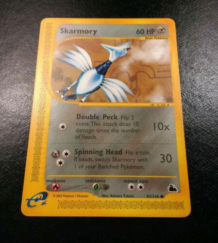 Skarmory Skyridge Pokemon Card NM
