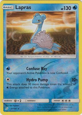 Pokemon Lapras - 31/181 - Rare - Reverse Holo NM-Mint Team Up