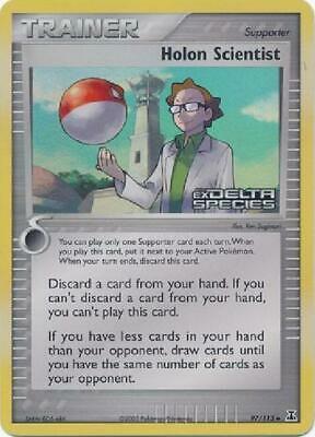 Holon Scientist 97//113 Ex Delta Species Pokemon Card LP