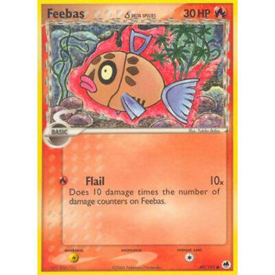 Carte Pokémon BARPAU 30 PV 49//101 EX Ile Des Dragons VF