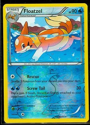 MINT XY Flashfire RARE Rev Holo Pokemon FLOATZEL 29//106