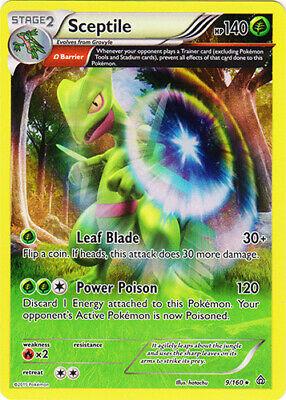 Rare Reverse Holo Pokemon XY Primal Clash M//NM x1 Sceptile 8//160