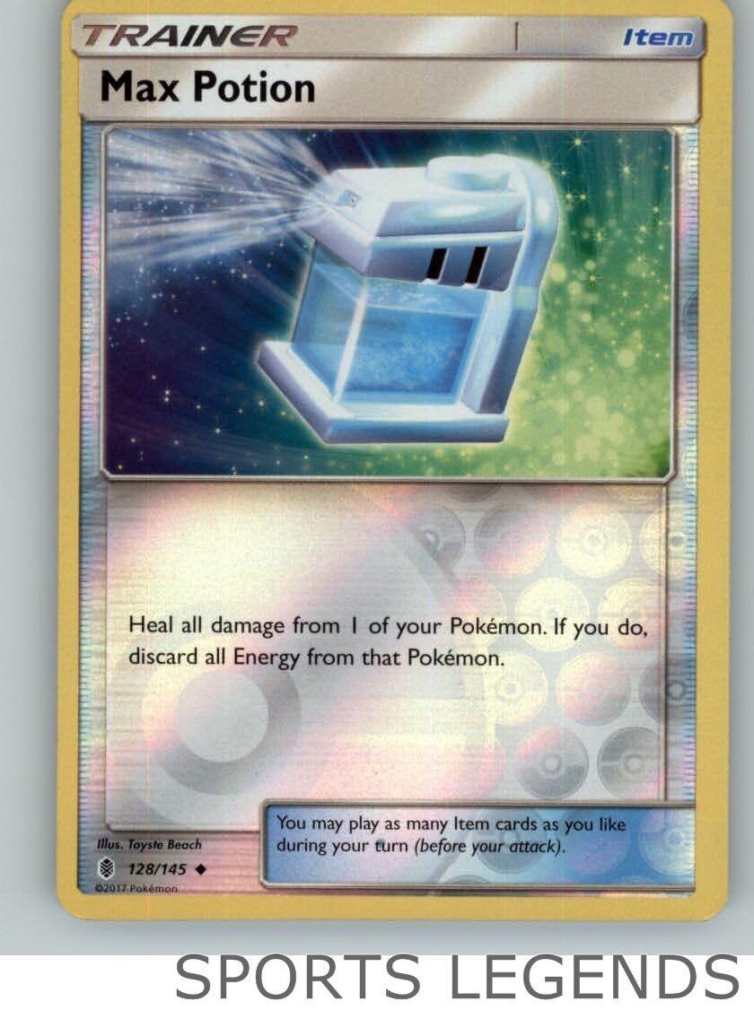 x4 Max Potion Uncommon Pokemon SM2 Guardians Rising M//NM English 128//145