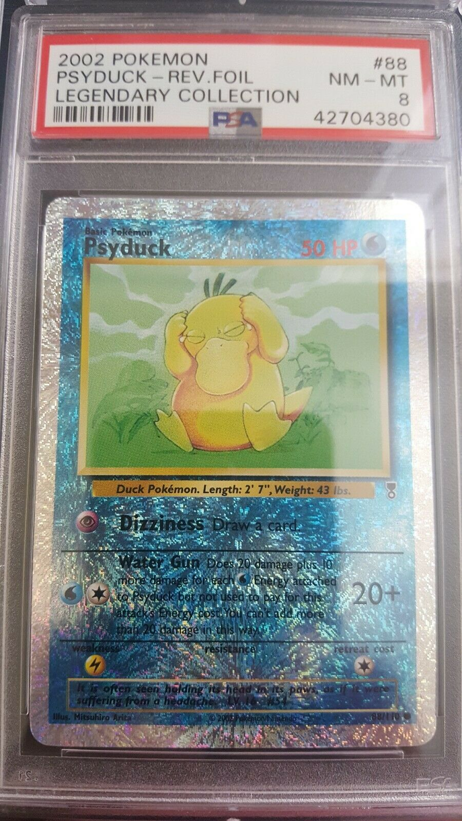 Psyduck #88//110 Legendary Collection Pokemon Cards NM+ 2002