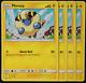 Pokemon - SM9 - Team Up -  4x Mareep 41/181  - Non Holo  - NM/M