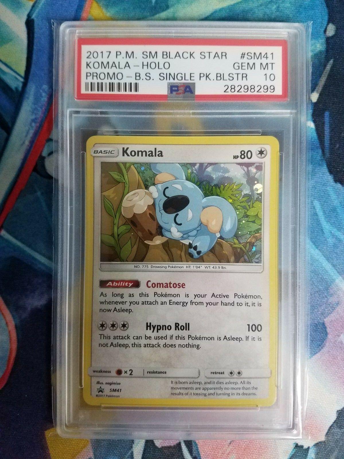 Komala HOLO Pokemon Card SM41 Sun /& Moon Promo