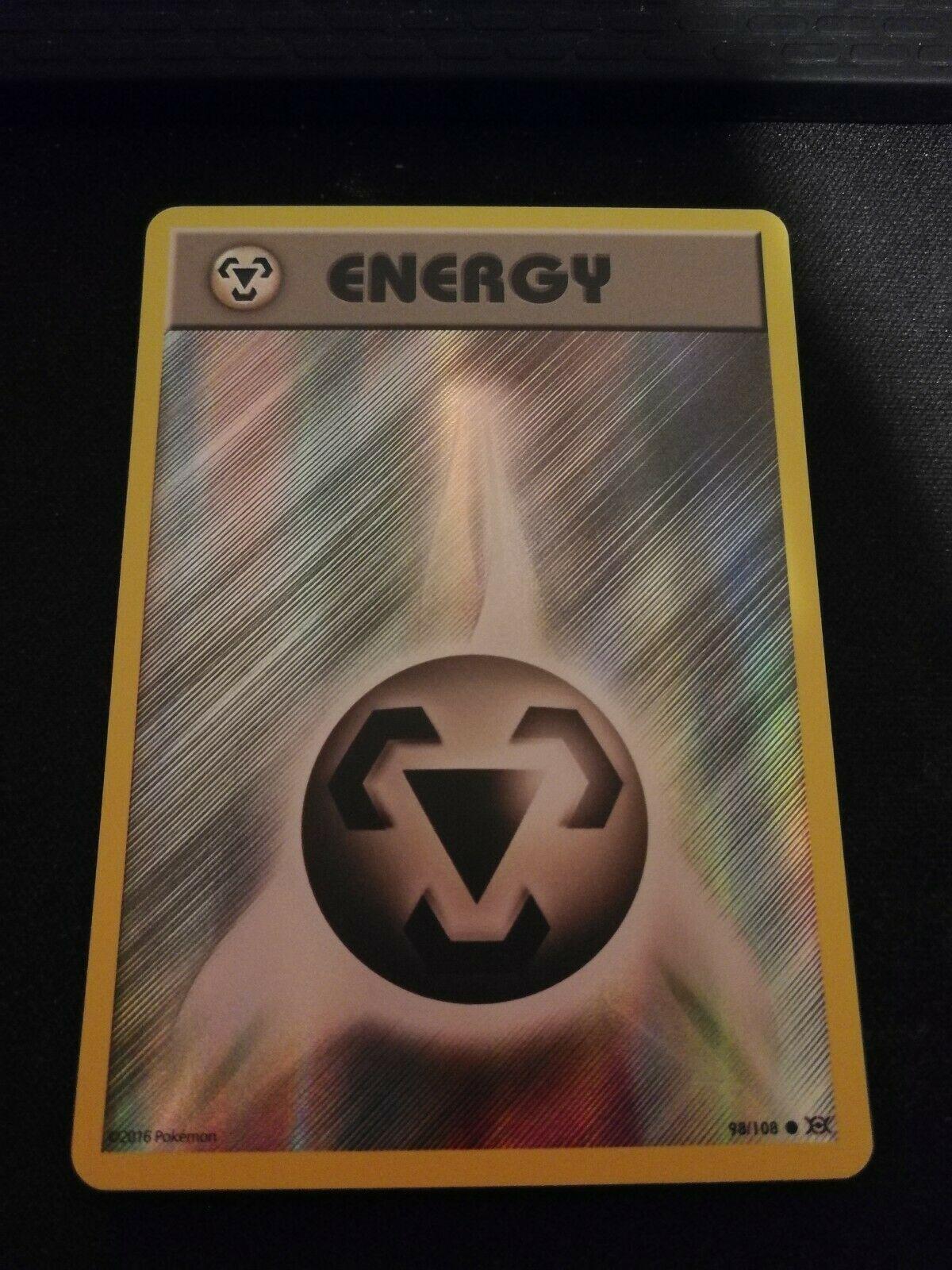 Pokemon XY EVOLUTIONS METAL ENERGY 98//108 REVERSE