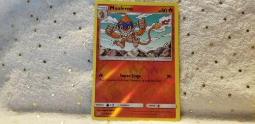 Pokemon TCG Monferno 22/156 Reverse Holo& Infernape 23/156 Holo Fire M English  - Image 3