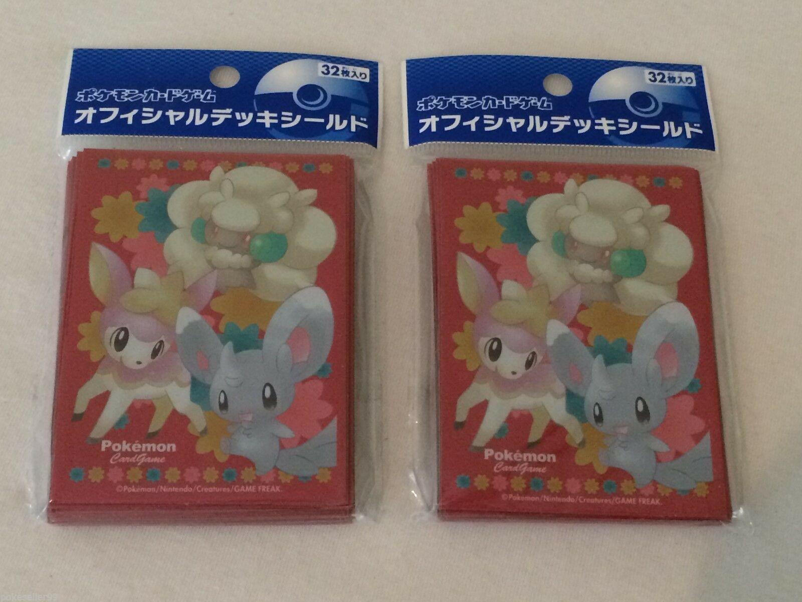 Japanese Pokemon center Fairy Ninetales Whimsicott Togepi Clefairy Deck Case Box