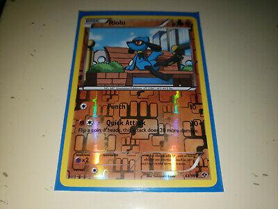 intended future /🌈 riolu-nb04 63//99 French designer card pokemon