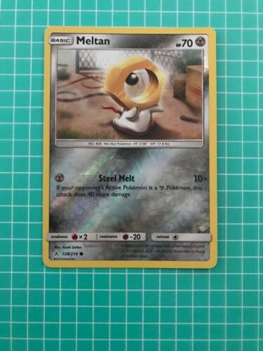 Common Pokemon SM10 Unbroken Bonds M//NM English 128//214 x4 Meltan