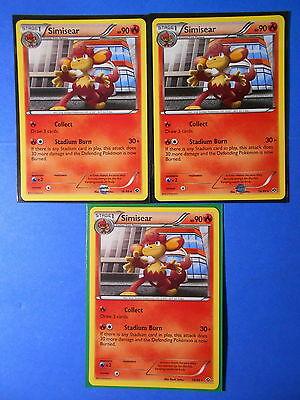 NM Simisear 16//99 /& Pansear 15//99 Next Destinies Evolution Rare Pokemon Cards