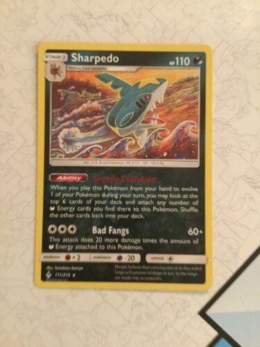Sharpedo - 111/214 - Pokemon Unbroken Bonds- NM/Mint  - Image 2