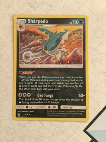 Sharpedo - 111/214 - Pokemon Unbroken Bonds- NM/Mint  - Image 3