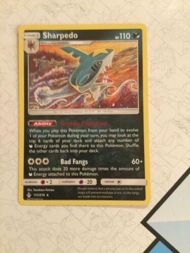 Sharpedo - 111/214 - Pokemon Unbroken Bonds- NM/Mint  - Image 6