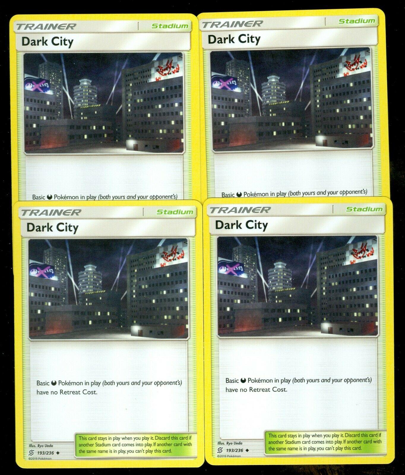 Unified Minds Uncommon NM-Mint Pokemon SM14 193//236 1x Dark City