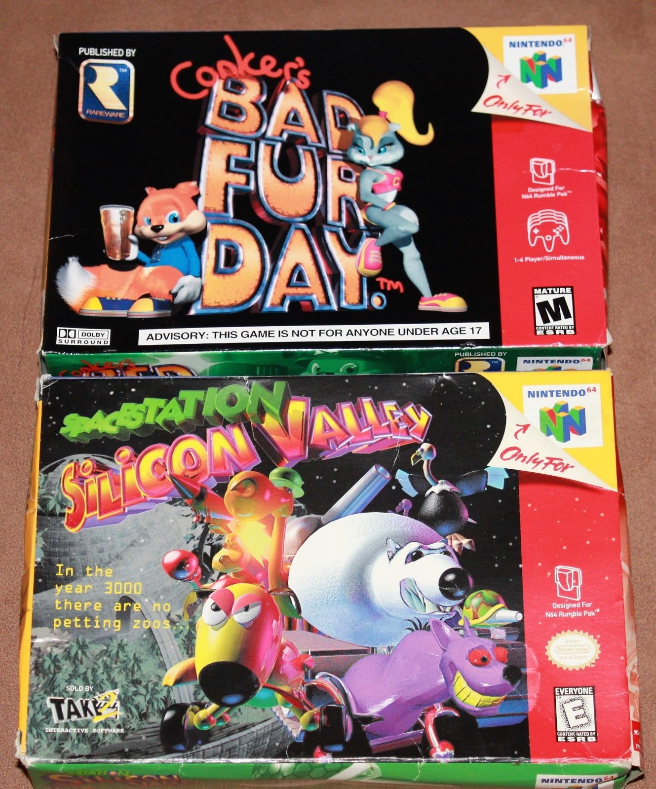 Original Game Cases & Boxes