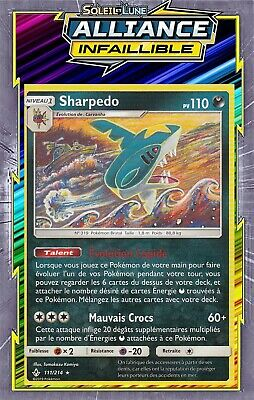 Sharpedo - SL10:Alliance Infaillible - 111/214 - Carte Pokemon Neuve Française