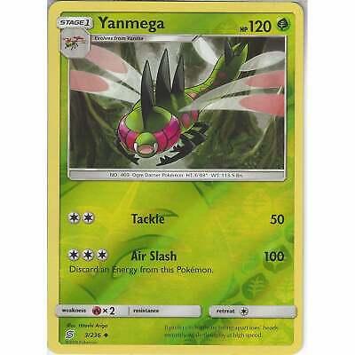 3//236 Reverse Holo NM-Mint Pokemon SM11 Uncommon Unified Mind 4x Yanmega