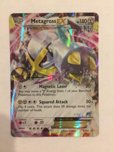Pokemon XY Black Star Promo Metagross EX XY34 Ultra Rare Near Mint Fast Shipping