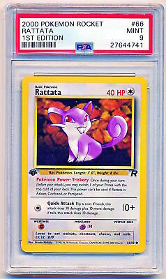 NM//M Condition Pokemon Team Rocket Set COMMON Rattata 66//82