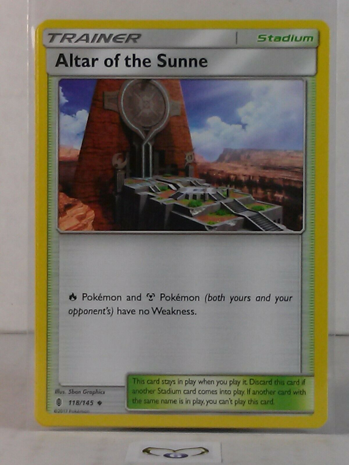 Uncommon NM-Mint Guardians Rising 118//145 x4 Pokemon Altar of the Sunne