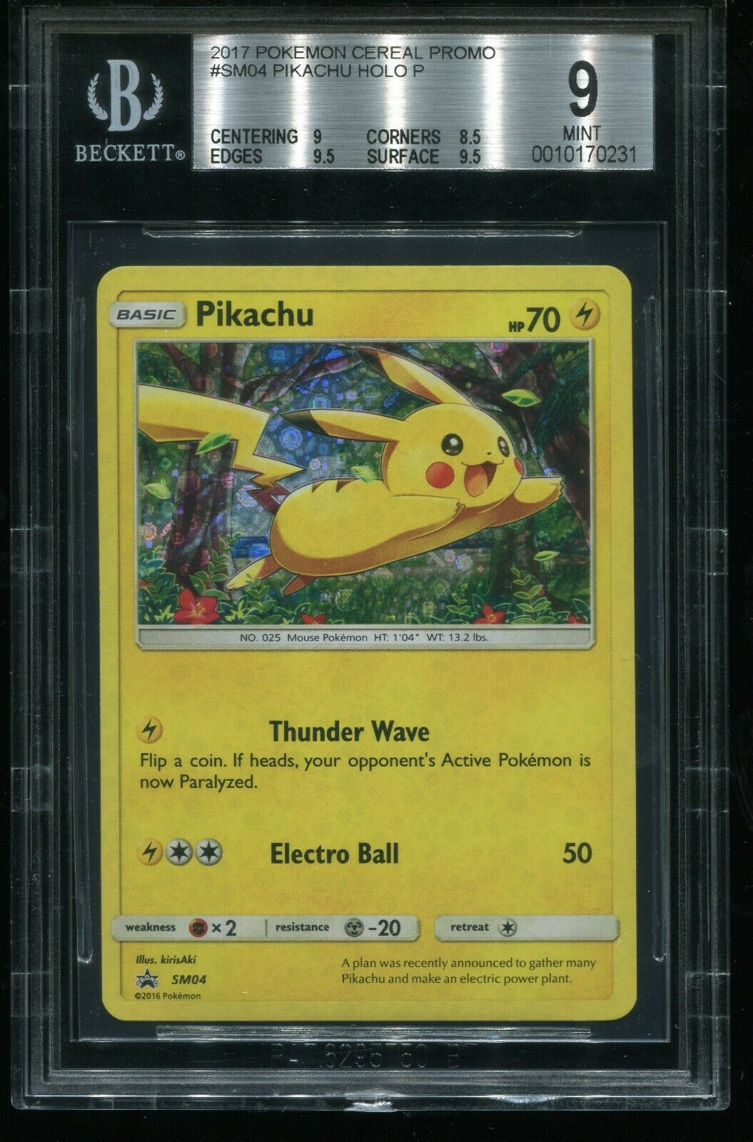 Pikachu SM04 Target Exclusive Promo Pokemon Card Sealed