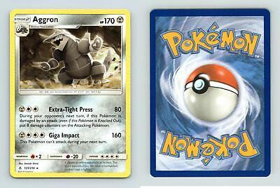 Aggron#125/214 Sun & Moon Unbroken Bonds Rare Pokemon 2019 TCG Card