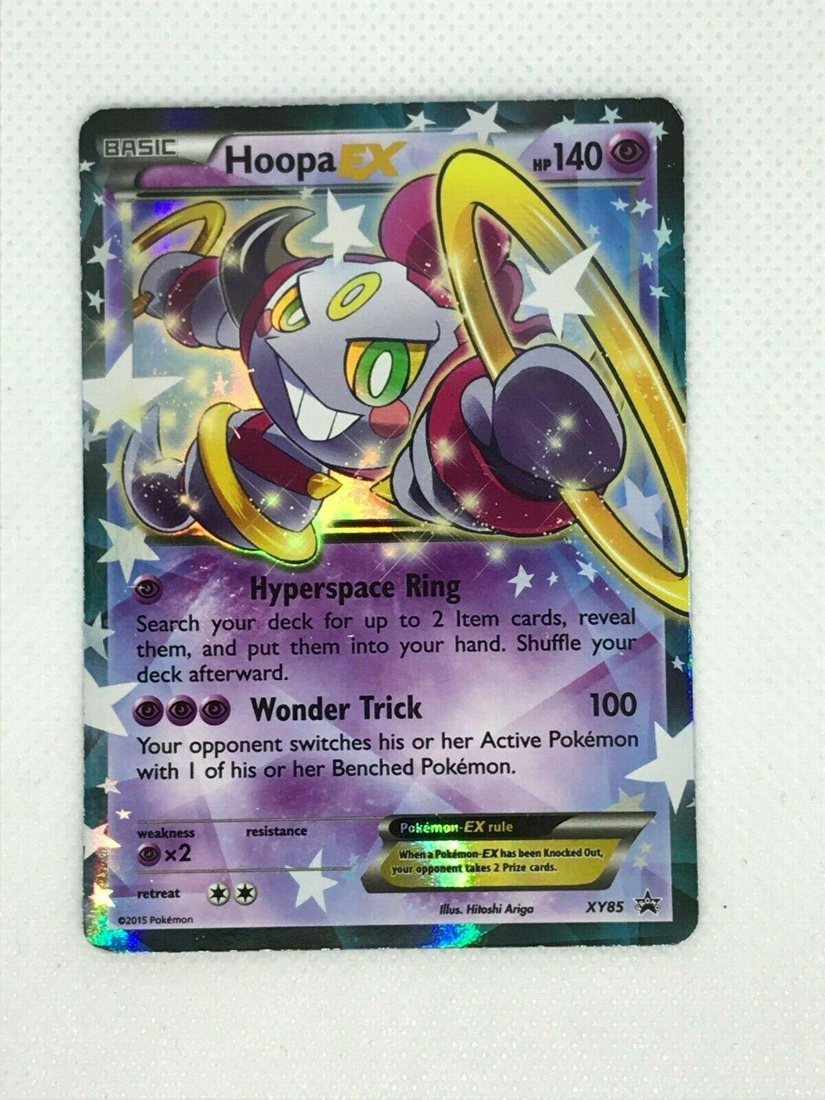 Hoopa-EX XY85 NM-Mint!!! - XY Ultra Rare Promo - x1 Promos