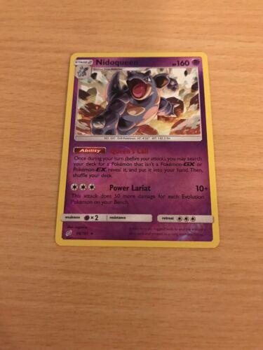 Pokemon Card Rev Holo Nidoqueen 56/181 Inc Free Card Deal - Image 1