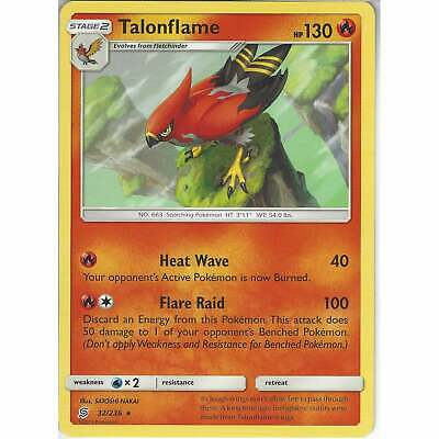 32/236 Talonflame | Rare Card | Pokemon Trading Card Game Unified Minds TCG SM11