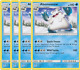 4x	Abomasnow	42/236	- RARE -	Pokemon TCG Unified Minds