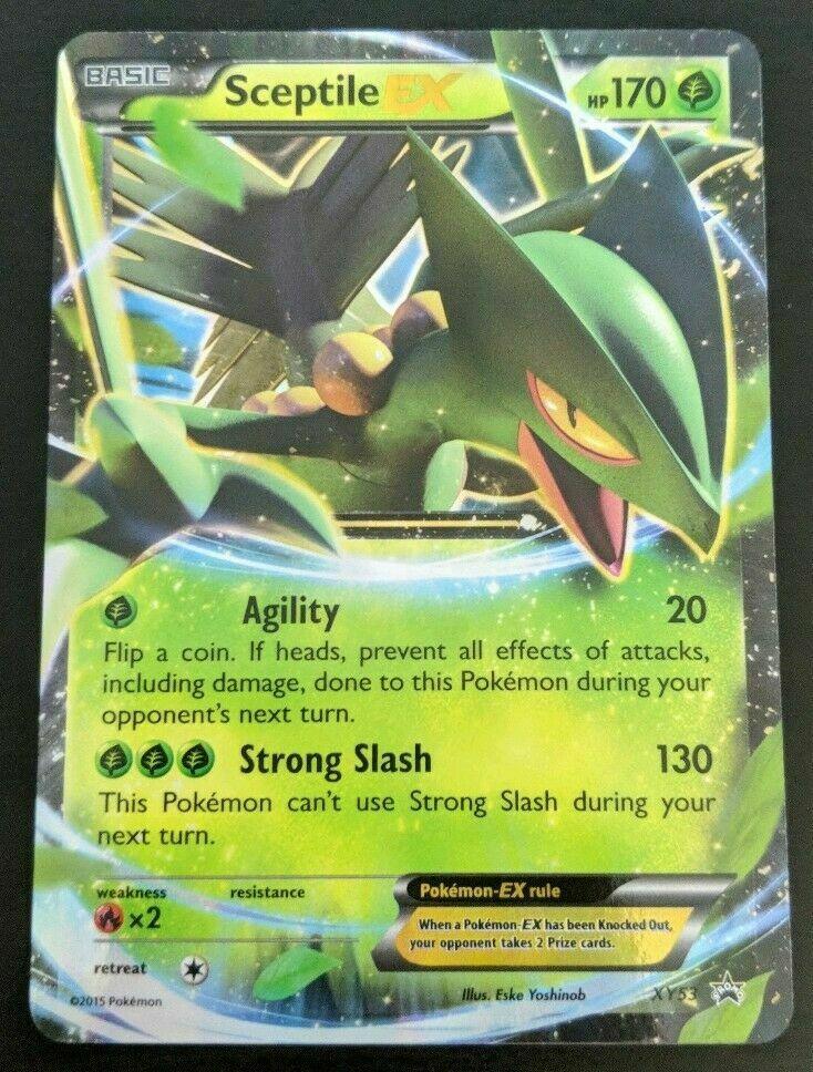 EN NM Pokemon Gewaldro EX Promo XY53